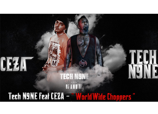 Ceza feat. Tech N9ne, JL, Uso, Yelawolf, Twista, Busta Rhymes, D. Loc, Twisted Insane – Worldwide Choppers
