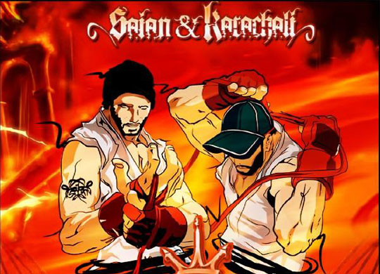 Saian & Karaçalı – Battle Royal